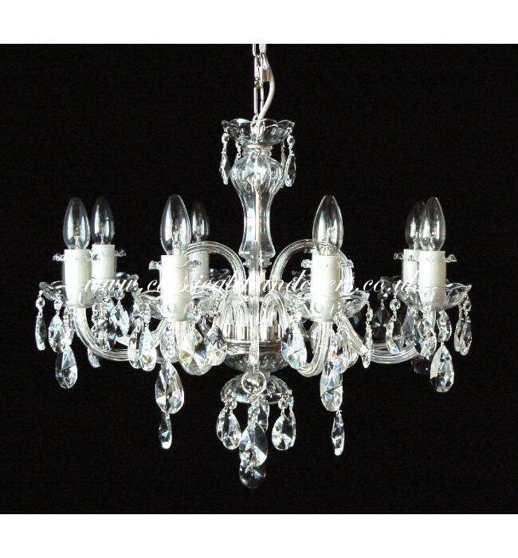 Glass Arm Chandelier - 8 Arm DC09720-8-xx Classical Chandeliers Living roomLighting