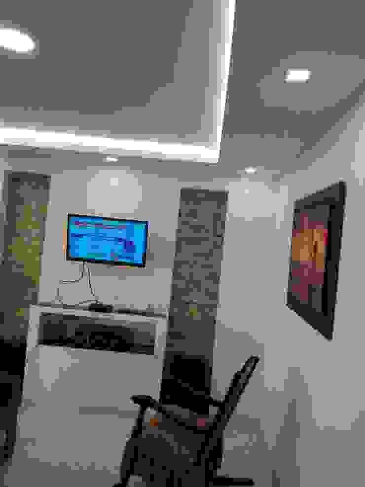 Luces indirectas, spotlight, panels LED Paredes y pisos de estilo moderno de Cosmoservicios SAS Moderno