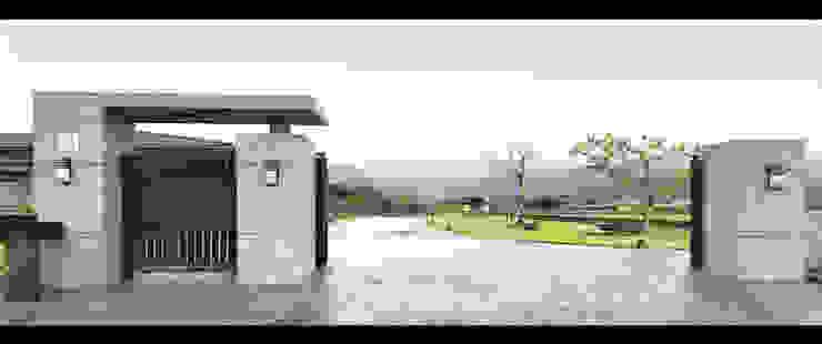 宜蘭 三星 別墅 農舍 車道 景觀 設計 根據 艾莉森 空間設計 簡約風