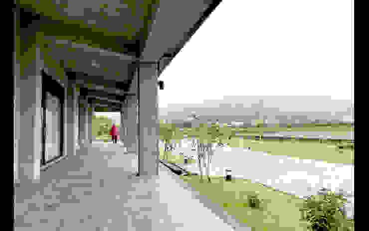 宜蘭 三星 別墅 農舍 建物廊道 設計 根據 艾莉森 空間設計 日式風、東方風