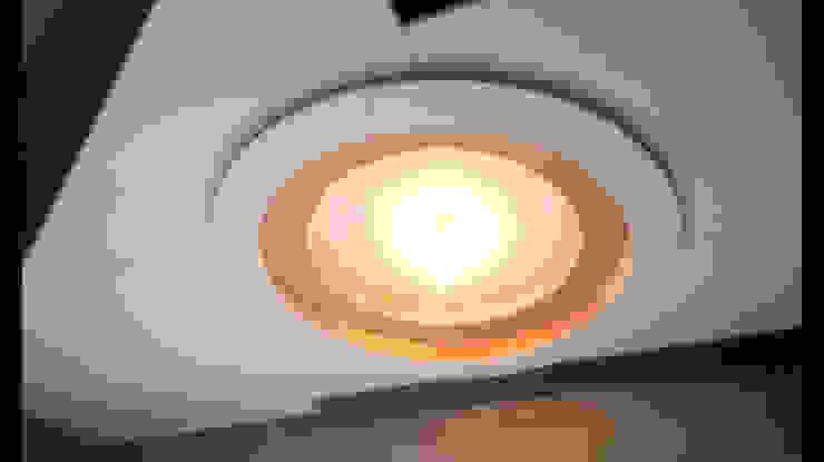圓型 造型 天花板 設計 未上漆 : 不拘一格  by 艾莉森 空間設計, 隨意取材風