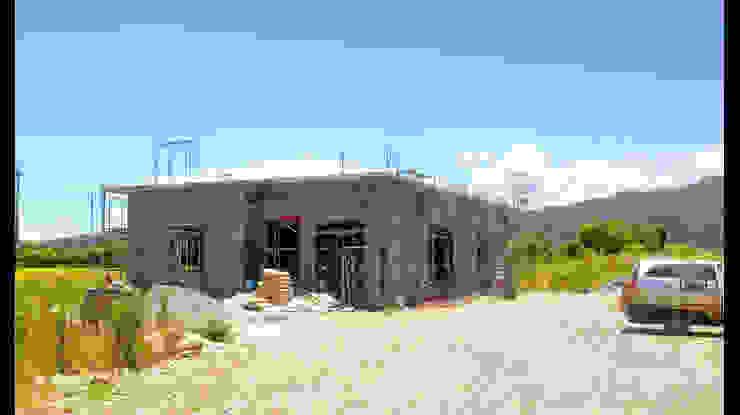 宜蘭 三星 別墅 農舍 建築 施工 設計 照片: 不拘一格  by 艾莉森 空間設計, 隨意取材風