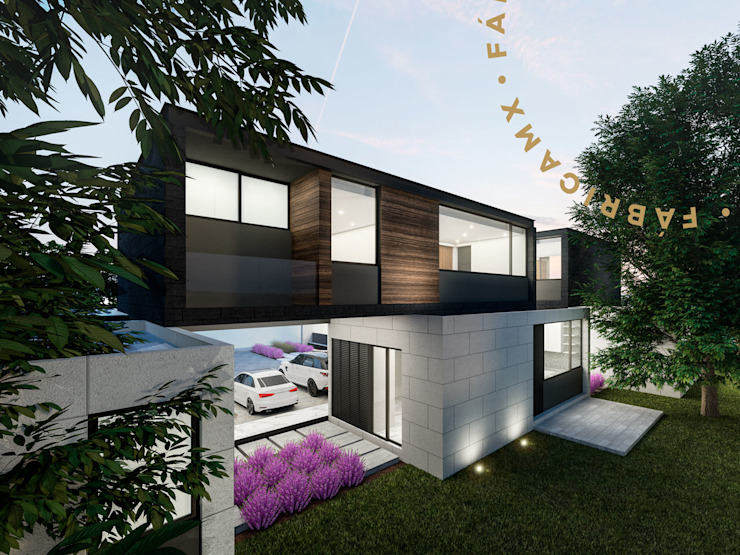 Casas estilo moderno: ideas, arquitectura e imágenes de Fábrica MX Moderno