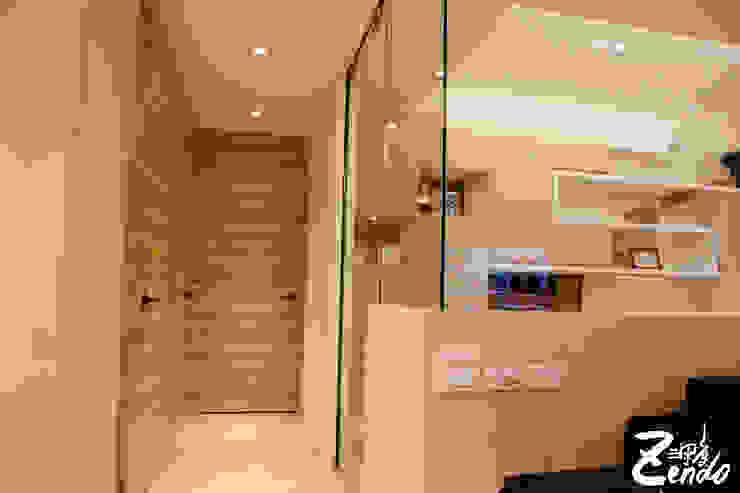北歐‧小清新 斯堪的納維亞風格的走廊,走廊和樓梯 根據 Zendo 深度空間設計 北歐風