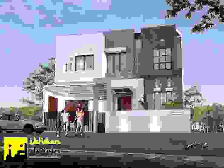 Desain rumah Oleh Ikhwan desain Modern Beton Bertulang