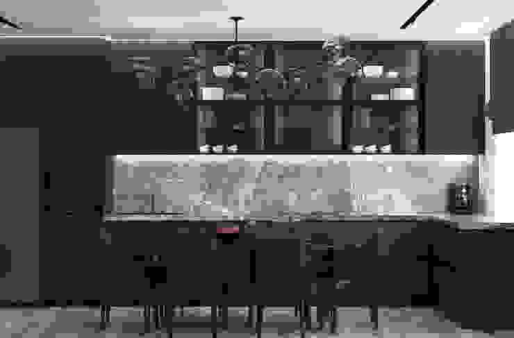 Nowoczesna kuchnia od U-Style design studio Nowoczesny