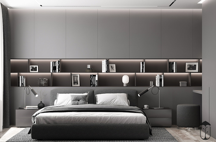 Cuartos de estilo moderno de U-Style design studio Moderno
