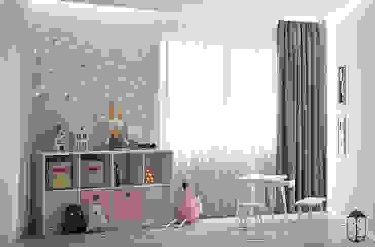 Cuartos infantiles de estilo moderno de U-Style design studio Moderno