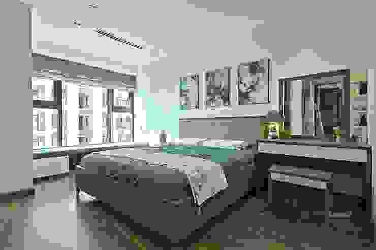 Giường phòng ngủ cao cấp hiện đại Phòng ngủ phong cách hiện đại bởi Thương hiệu Nội Thất Hoàn Mỹ Hiện đại