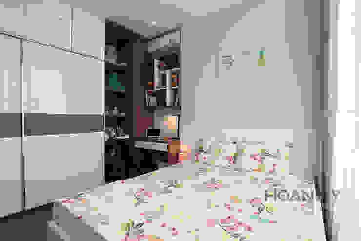 Tủ quần áo đa năng tiện lợi trong phòng ngủ: hiện đại  by Thương hiệu Nội Thất Hoàn Mỹ, Hiện đại