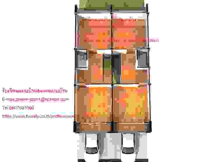 แปลนพื้นอาคารพาณิชย์ 2 คูหา โดย รับเขียนแบบบ้าน&ออกแบบบ้าน
