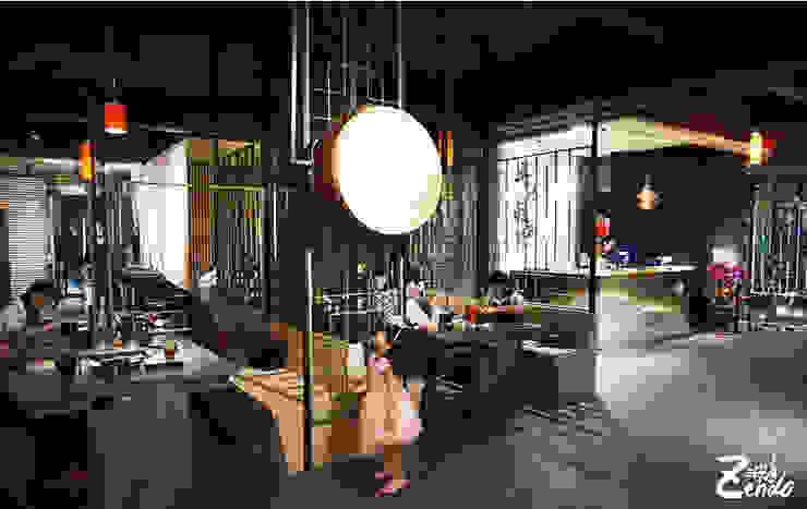 春秋戰鍋︱大里店 根據 Zendo 深度空間設計 熱帶風