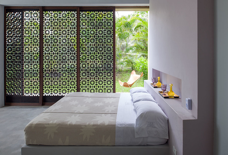 Modern style bedroom by NOAH Proyectos SAS Modern Glass