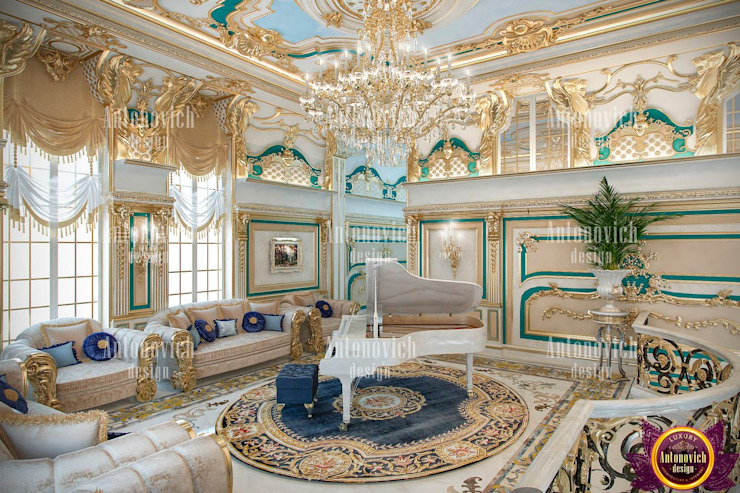 Interiors of absolute happiness from Katrina Antonovich by Luxury Antonovich Design Classic