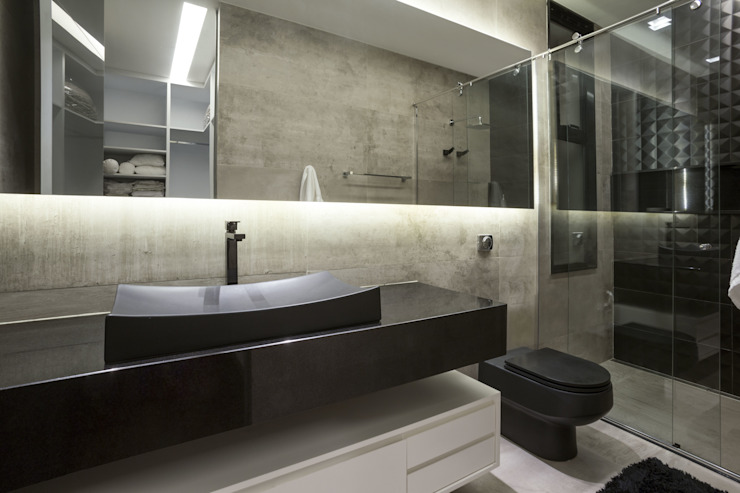 Bathroom by Rosset Arquitetura, Modern