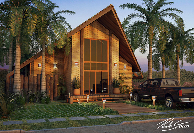 Bungalows by Paulo Stocco Arquiteto, Rustic
