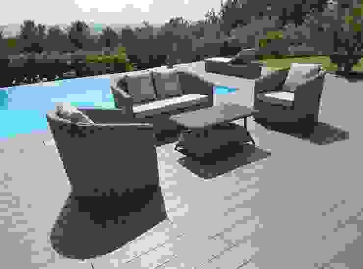 Divano da giardino per arredo piscina e giardino di Uniko Mediterraneo