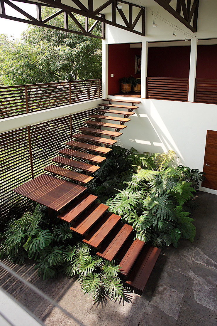 Mayúscula Arquitectos Stairs