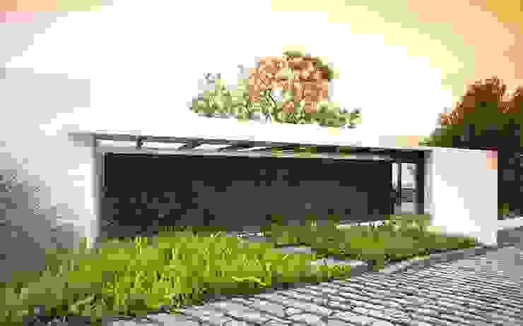 Mayúscula Arquitectos Modern houses