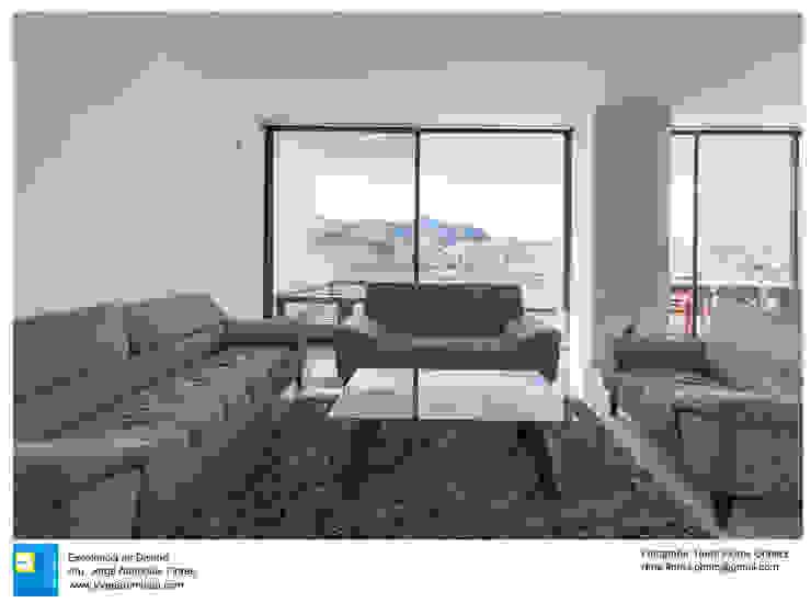 Casa Zotero Salones minimalistas de Excelencia en Diseño Minimalista