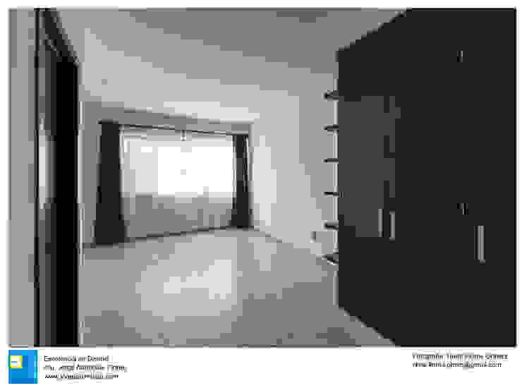 Casa Zotero Dormitorios minimalistas de Excelencia en Diseño Minimalista