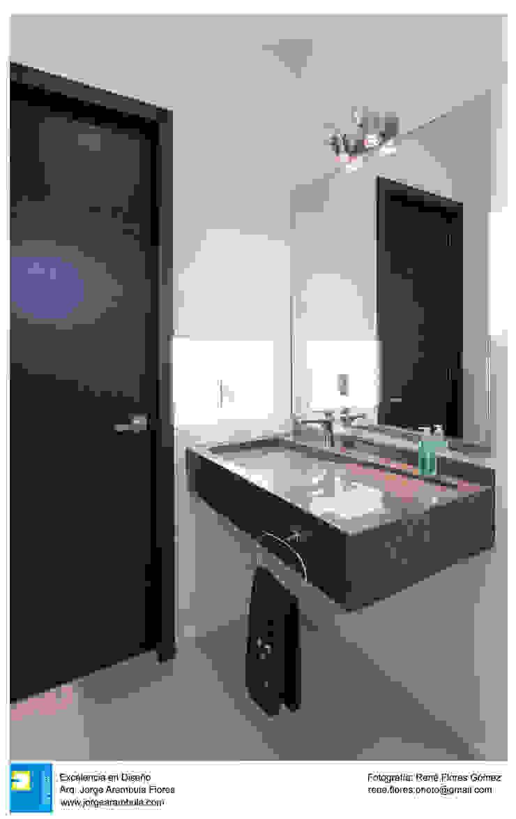 Casa Zotero Baños minimalistas de Excelencia en Diseño Minimalista Mármol