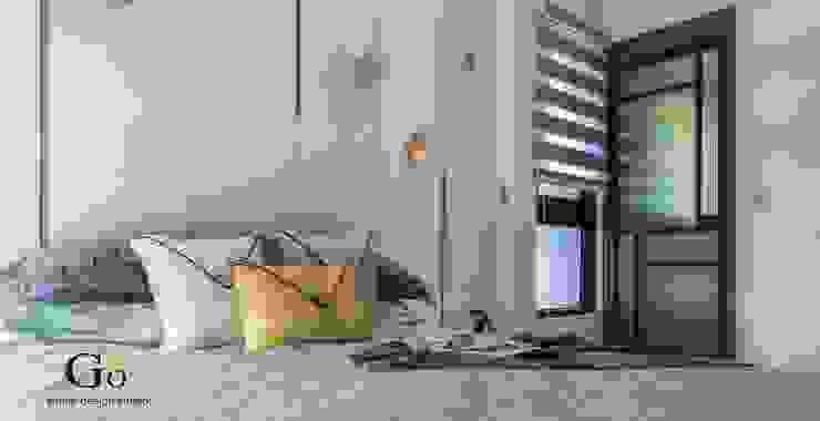 Minimalistische Schlafzimmer von 勁懷設計 Minimalistisch Holz-Kunststoff-Verbund