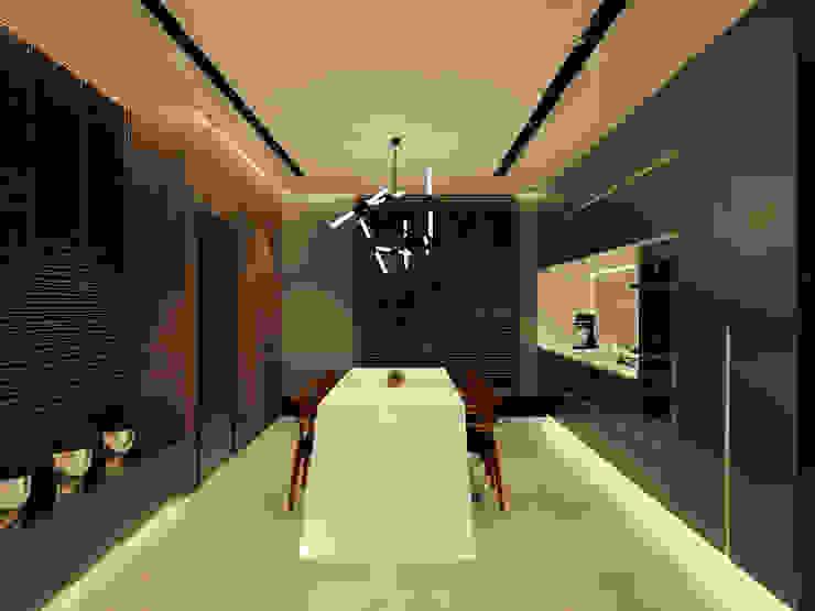 Studio Diego Duracenski Interiores Dapur Modern Black
