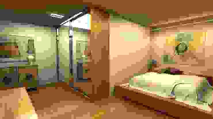 Next Container - Jumbo Mix Villa 2 homify Modern Yatak Odası