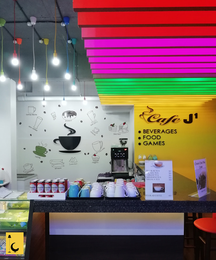 Cafe J1: modern  by Indoor Concepts,Modern Plywood