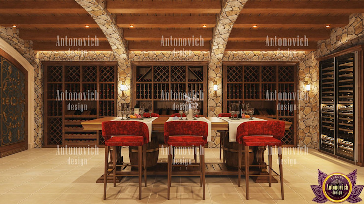 The rules of beauty in interiors Katrina Antonovich Classic style dining room by Luxury Antonovich Design Classic