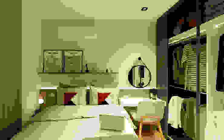 Спальня в стиле модерн от Arquiteca Projetos Модерн