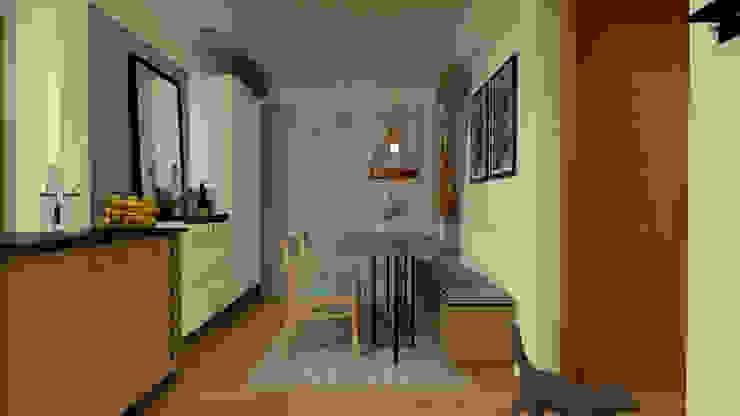 Comedores de estilo moderno de Arquiteca Projetos Moderno