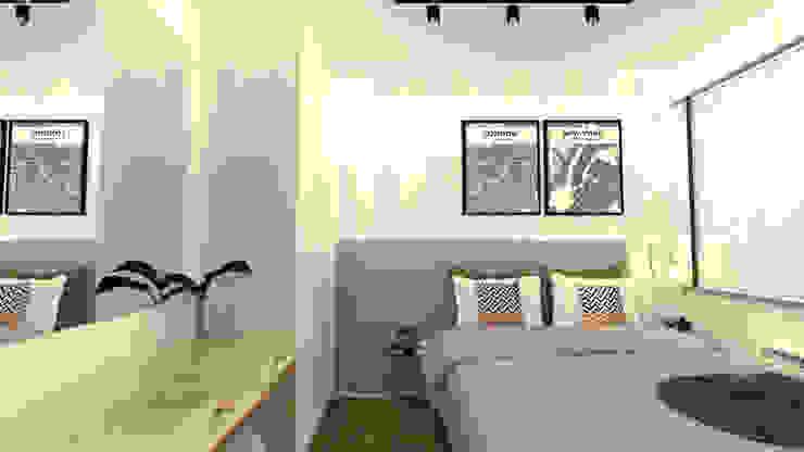 Chambre moderne par Arquiteca Projetos Moderne