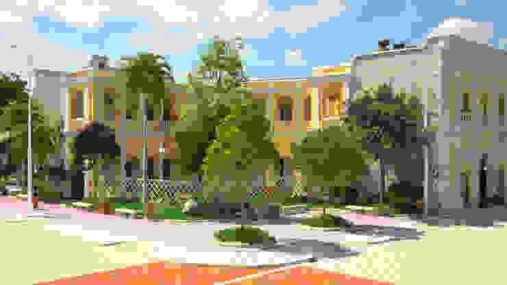 diseño paisajista y urbano del Edificio Ferrans de A.BORNACELLI