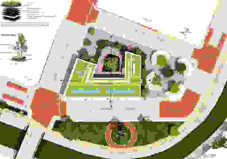 Planta de Cubierta Edificio Ferrans de A.BORNACELLI