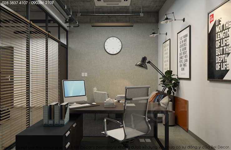OF1632 Industrial Factory & Office/ Bel Decor:   by Bel Decor