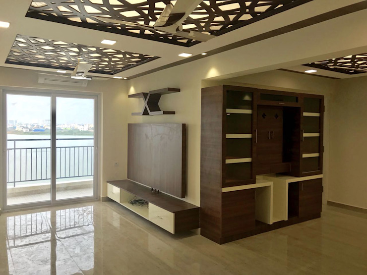 Modern Living Room by Alcyone Interiors Modern