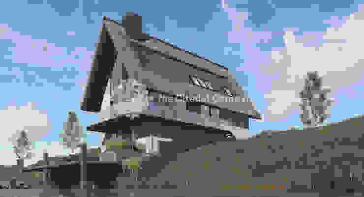 Maisons modernes par Architectenbureau The Citadel Company Moderne