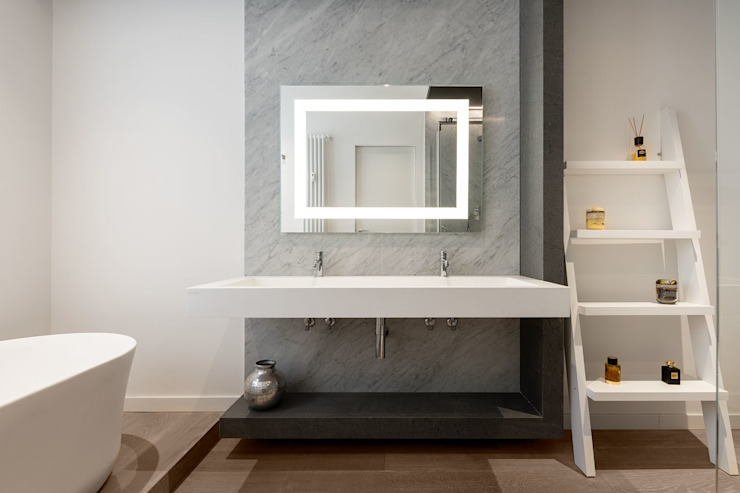 Modern bathroom by homify Modern Marble