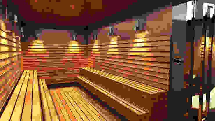 Next Container – Next Container -  20 Ft Jumbo Sauna:  tarz Sauna,