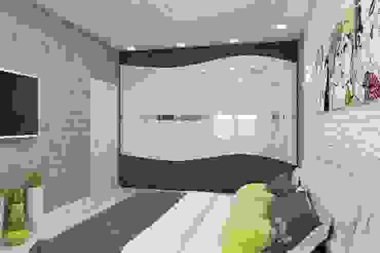 Phòng ngủ theo Цунёв_Дизайн. Студия интерьерных решений.,
