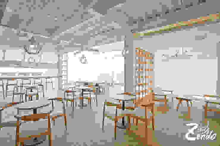 金礦咖啡︱興業店 根據 Zendo 深度空間設計 北歐風