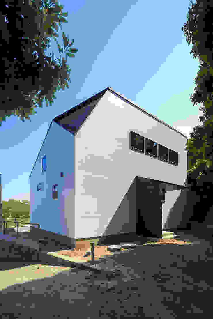 一級建築士事務所haus Casas unifamilares Madera Blanco