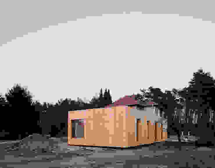 1 by JAN RÖSLER ARCHITEKTEN Minimalist Wood Wood effect