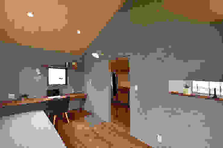 A&A: BDA.T / ボーダレスドローが手掛けた寝室です。,北欧 木 木目調