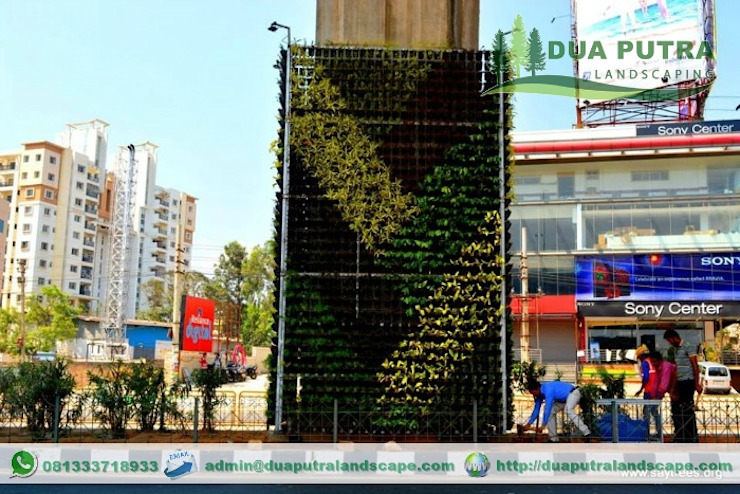 Vertical Garden Jakarta Taman Modern Oleh Dua Putra Landscape Modern