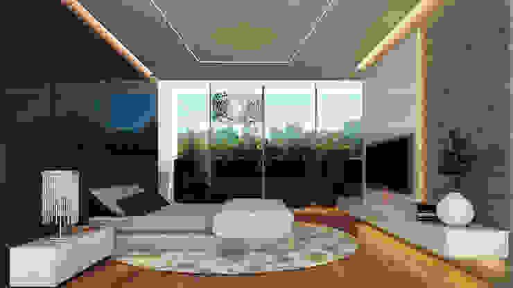 Besana Studio Modern style bedroom Ceramic Multicolored
