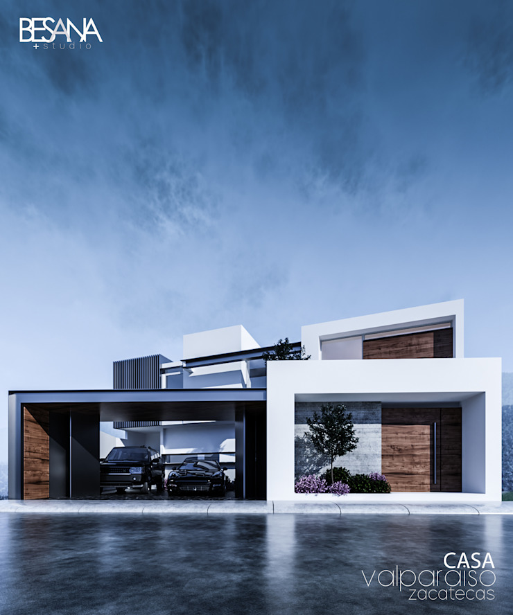 Besana Studio Modern houses Multicolored
