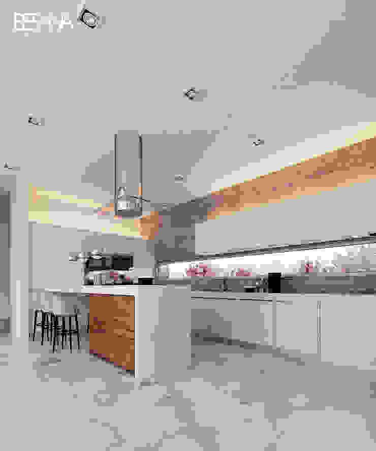 Besana Studio Built-in kitchens White